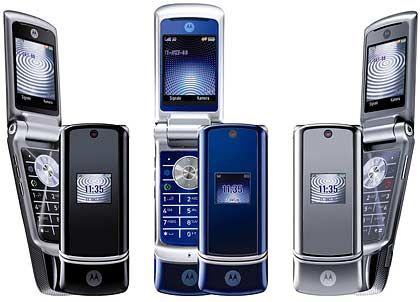 Flaute nach dem Razor: Die Motokrzr-Handys von Motorola hatten nicht den gewünschten Erfolg