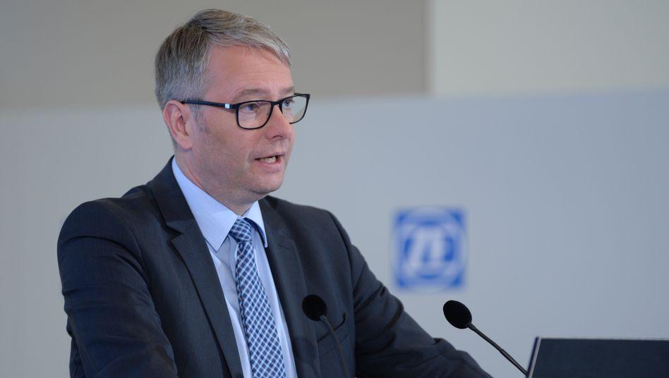 Stefan Sommer als ZF-Vorstandschef (Archivaufnahme, 2016)