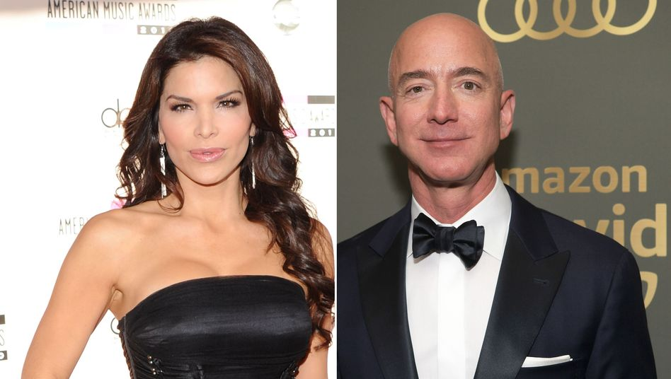 Jeff Bezos, Freundin Lauren Sanchez