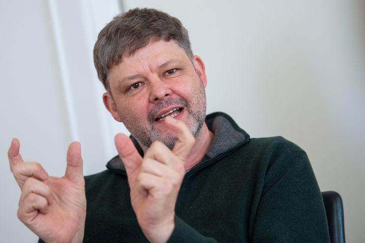 Peter Gerjets, Leiter der Arbeitsgruppe Multimodale Interaktion am Leibniz-Institut für Wissensmedien