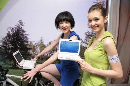 Verkaufsschlager EeePC: 5 Prozent der verkauften Notebooks sind inzwischen Netbooks wie das EeePC von Asus