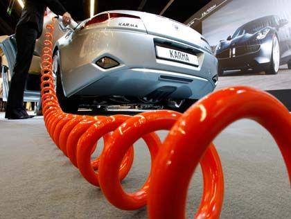 Kraft im Tank: Das Auto der Zukunft fährt mit Strom