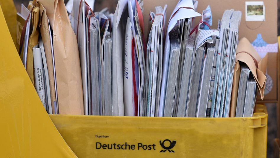 Wenn der Briefträger nicht kommt: Stapelweise Post in Potsdam