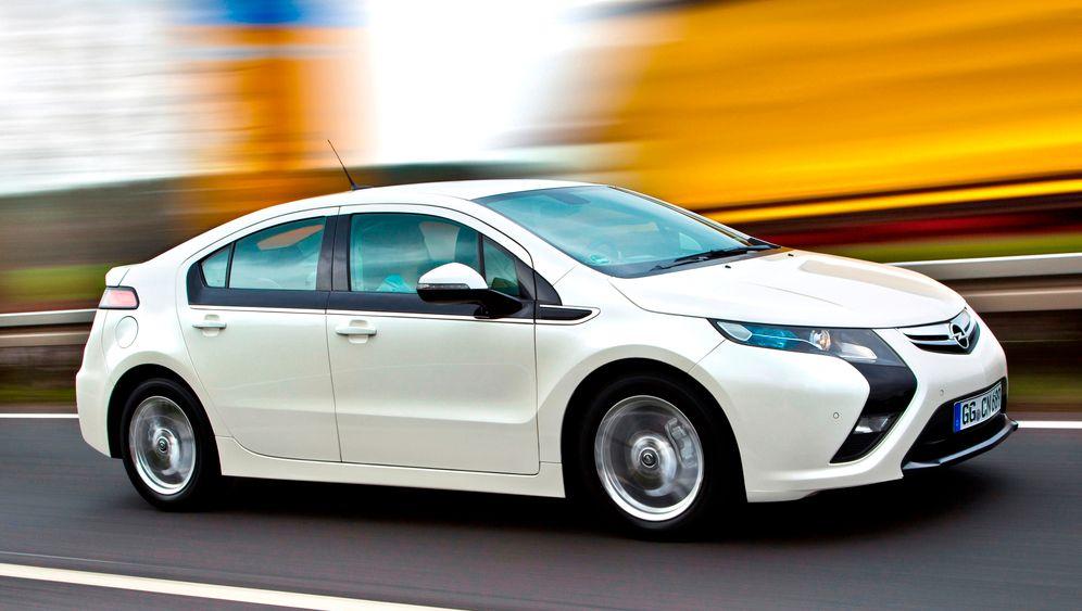 Opel Ampera: Elektrisierende Technik