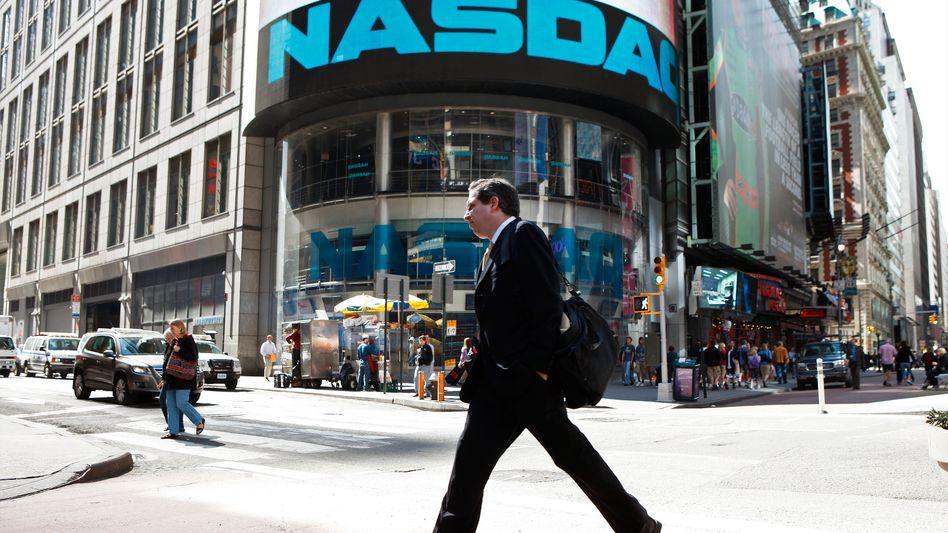 Nasdaq in New York: Anleger nehmen vor der Apple-Präsentation Gewinne mit