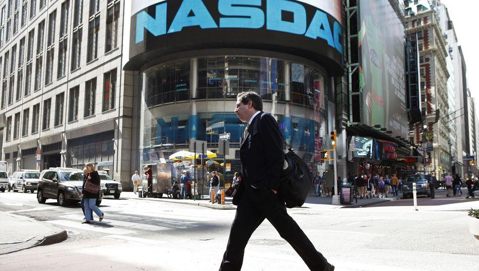 Tech-Börse Nasdaq in New York: Nicht nur Amazon, Apple und Co starten durch.
