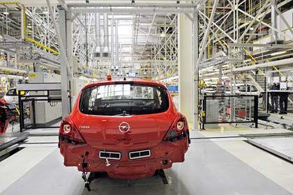 Werk Eisenach: Rund 1700 Beschäftigte produzieren dort den Opel Corsa