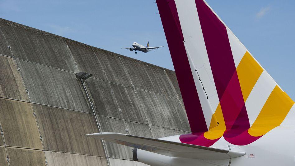 Zwei Vorfälle an einem Tag: Die Lufthansa-Tochter Germanwings bekommt das Problem schlechter Luft in den Cockpits offenbar nicht richtig in Griff.