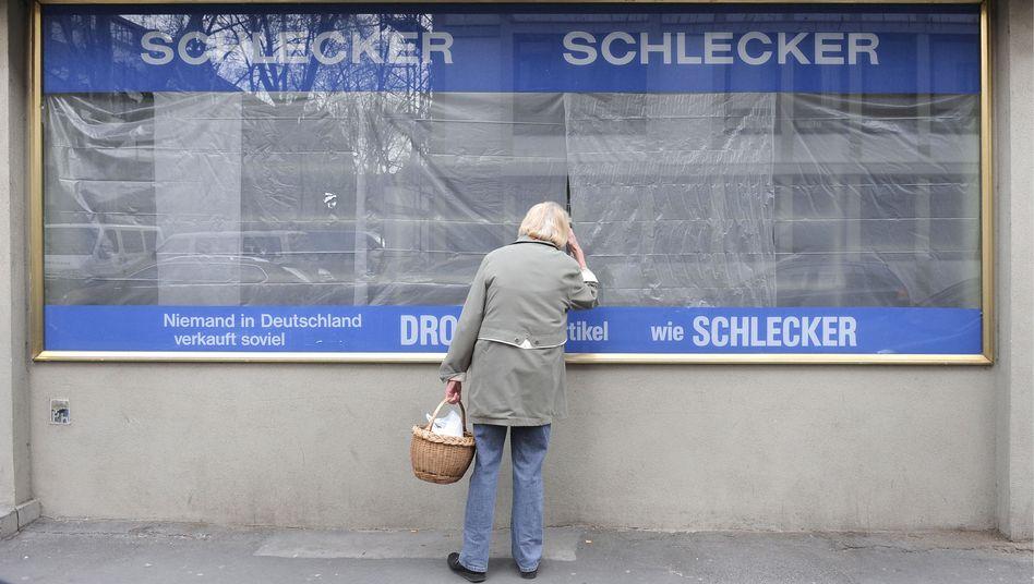 Geschlossene Schlecker-Filiale in Mainz: 7100 Schlecker-Frauen haben inzwischen einen neuen Job