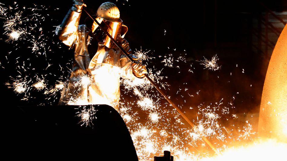 Stahlerzeugung bei Thyssenkrupp