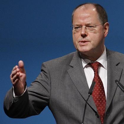 Sieht Handlungsbedarf:Finanzminister Steinbrück