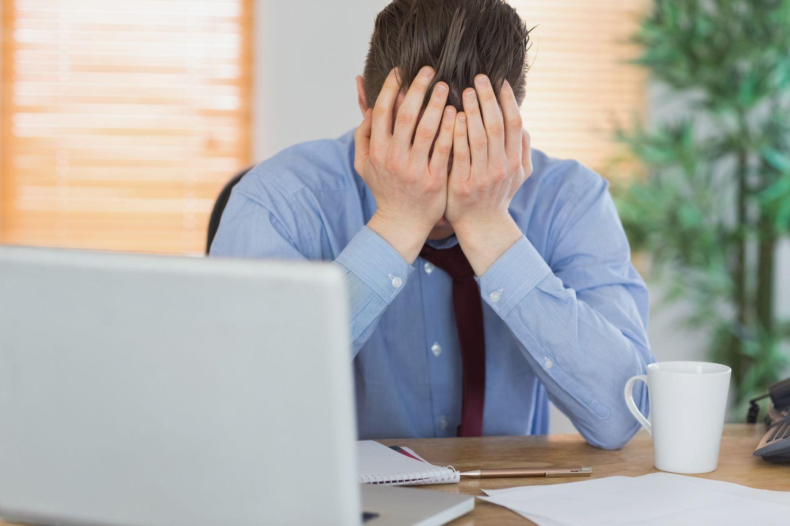 NICHT MEHR VERWENDEN! - Stress im Büro / Notebook