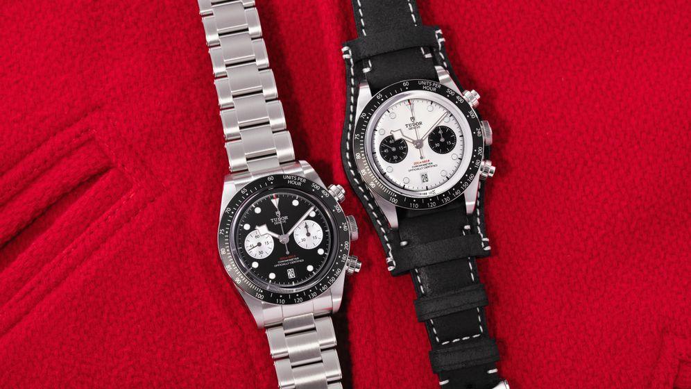 """50 Jahre Chronografen-Kompetenz vollendet Tudor mit einer Neuauflage: """"Black Bay Chrono"""" mit den charakteristischen Snowflake-Zeigern und Hochleistungs-Automatikwerk"""