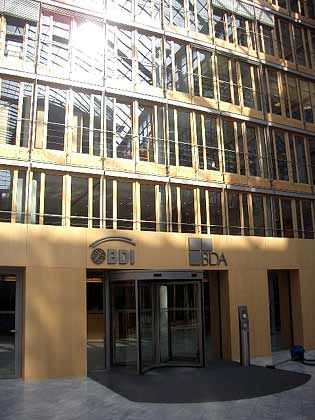"BDI-Zentrale in Berlin: Kritik am ""Preis-Leistungs-Verhältnis"""