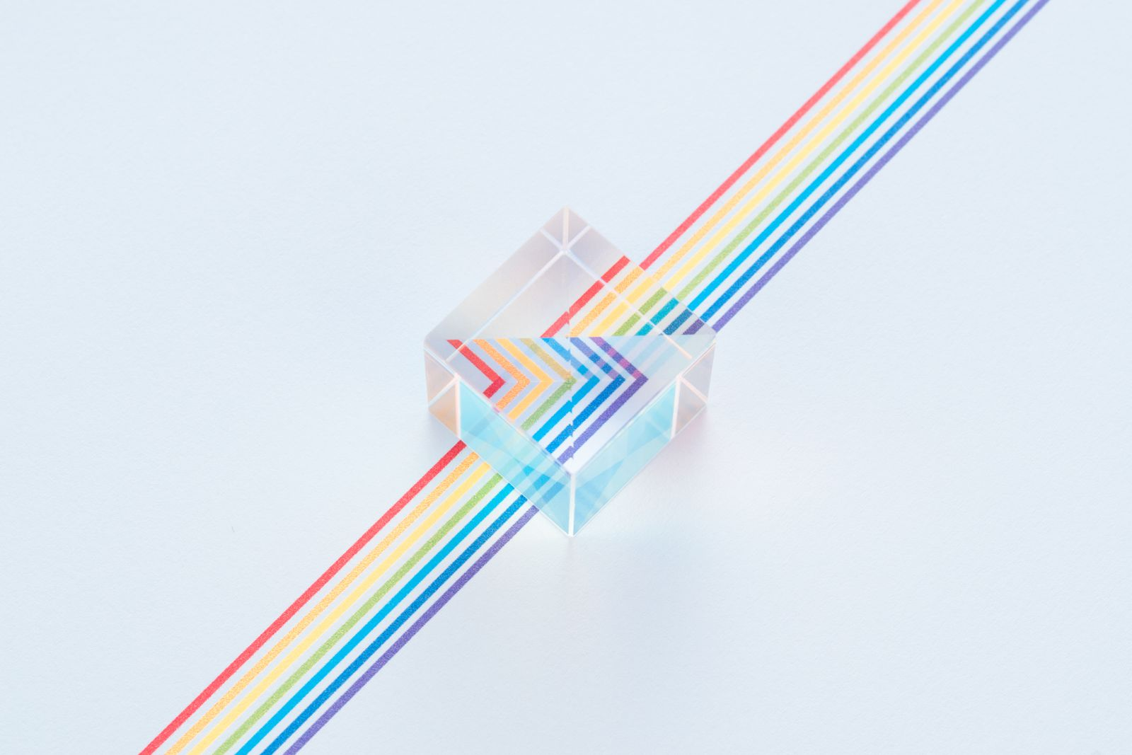 Prism on Colorful Lines