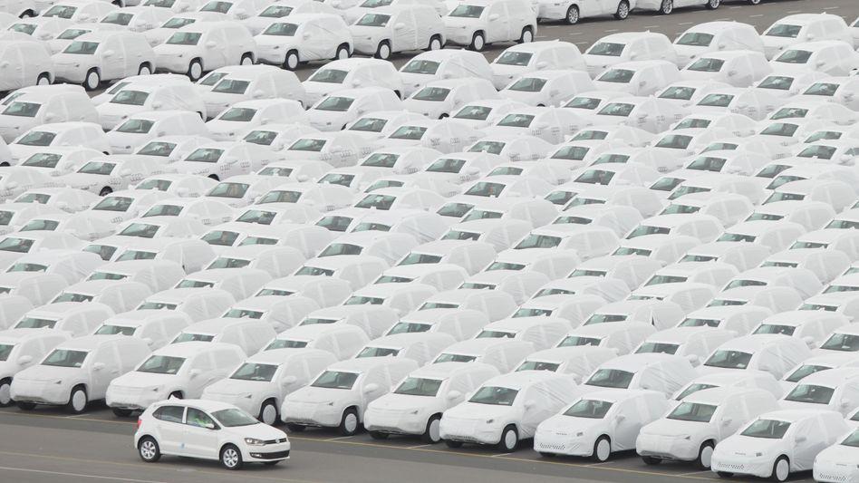 VW-Exportwagen in Emden: Profitieren vom Boom in Amerika und Asien