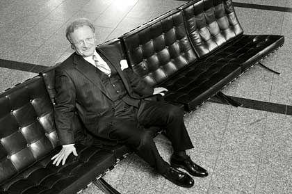 Ein Moralist in der Finanzwelt: WestLB-Primus Fischer