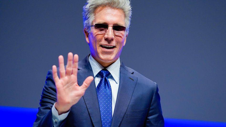 Bill McDermott auf der Hauptversammlung von SAP im Mai