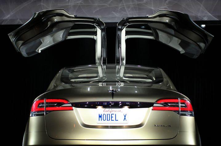 Schwerer Unfall: das Model X ist noch nicht lange im Handel