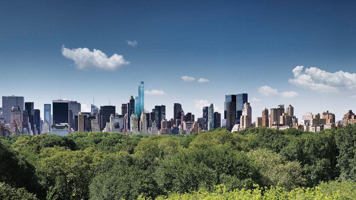 """Der """"One57"""": Bilder vom höchsten Wohnturm New Yorks"""