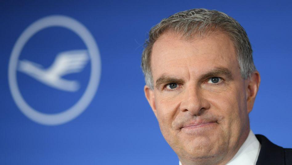 Lufthansa-Chef Spohr: Der Vorstandsvorsitzende übernimmt bis auf Weiteres auch das Ressort Finanzen