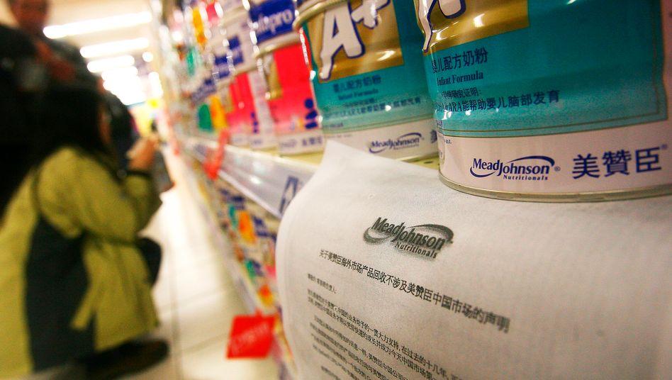 Milchpulver: China nimmt ausländische Hersteller wie Mead Johnson ins Visier