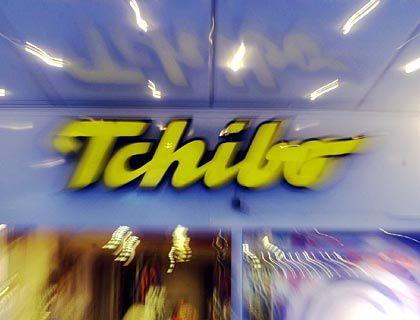 Tchibo-Filiale: Das Handelsgeschäft läuft nicht rund, die Erträge sinken