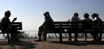 Rentner im Sonnenschein: So wird es nicht ewig sein