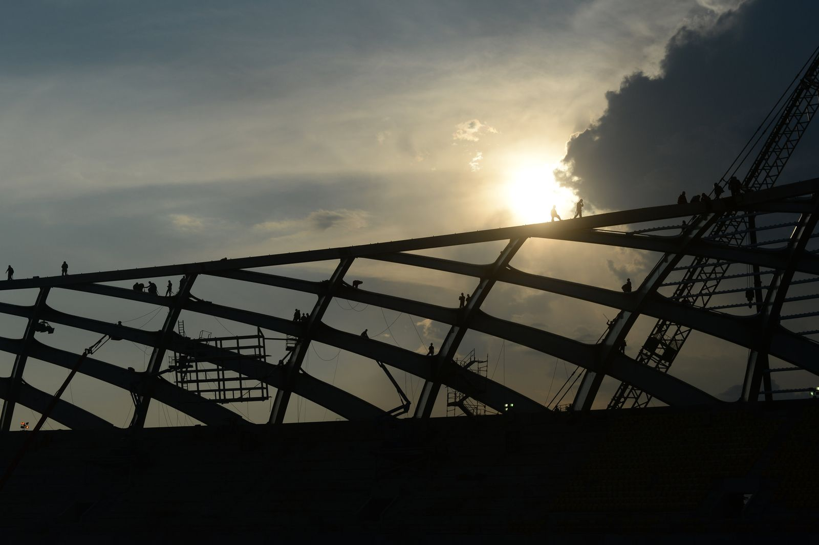 """Stadion """"Arena Amazonia"""" in Manaus"""