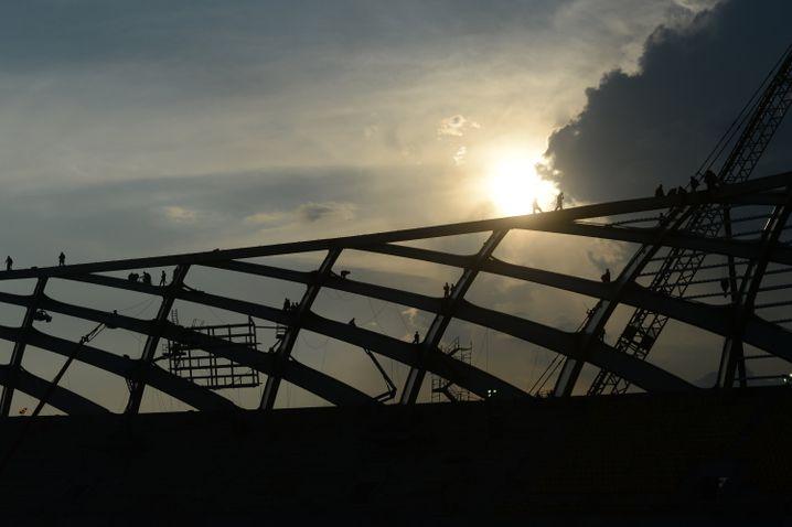 Deutsches Dach: Arena da Amazônia in Manaus