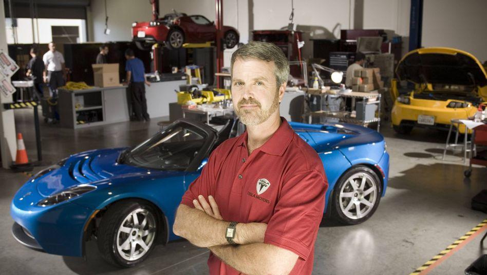 Hat noch eine Rechnung mit Elon Musk offen: Tesla-Mitgründer Martin Eberhard im März 2008