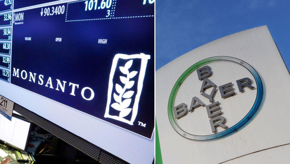 Bayer: Bei der 66-Milliarden-Dollar-Übernahme von Monsanto sieht sich Bayer im Plan. Jedoch zeigt das Agrargeschäft Zeichen von Schwäche