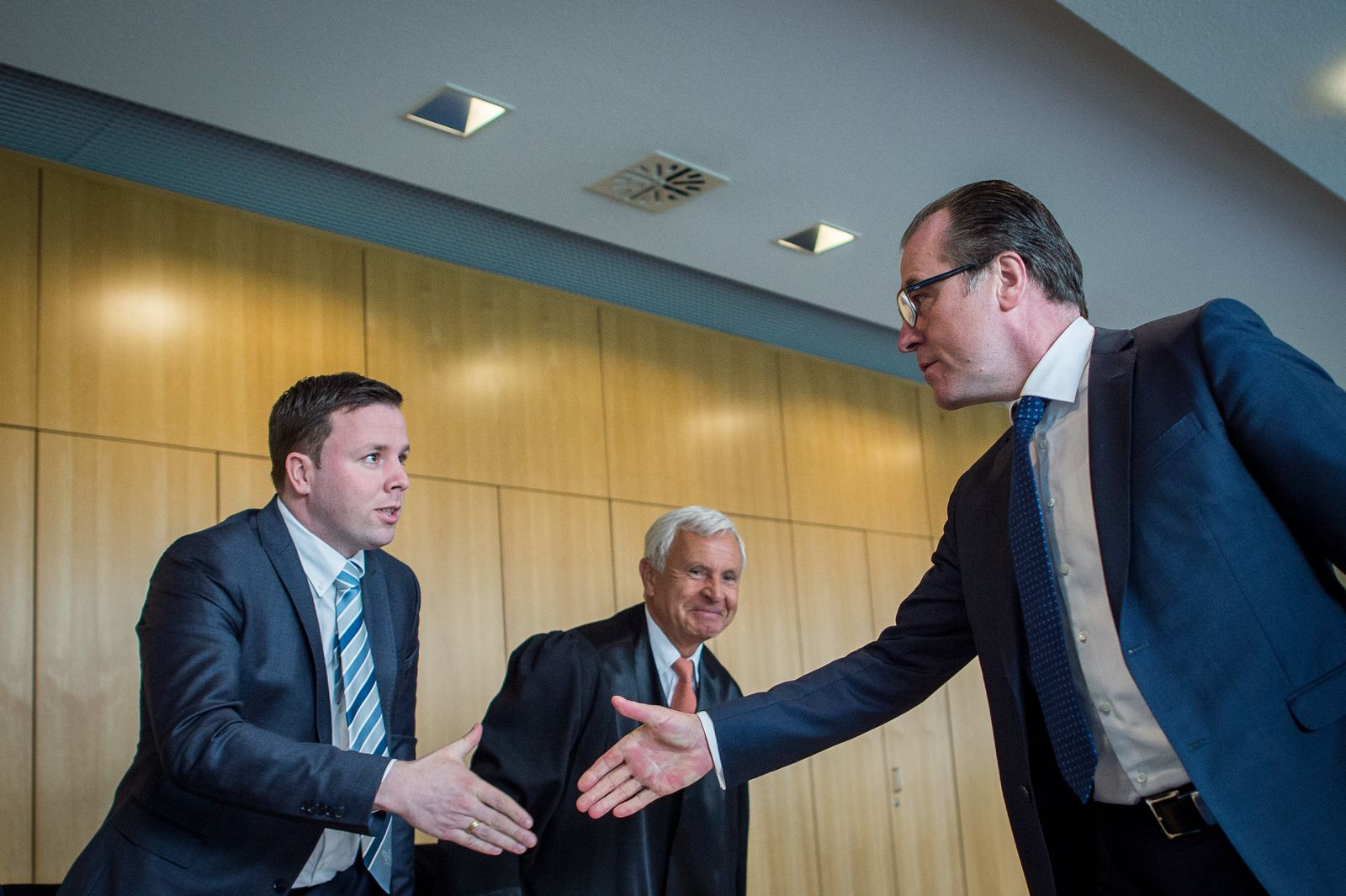 Tönnies-Prozess / Clemens Tönnies & Robert Tönnies