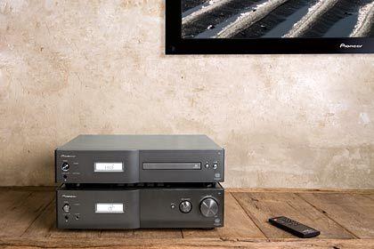 Einfach, aber gut: Stereoanlagen, wie hier von Pioneer, sind wieder im Kommen