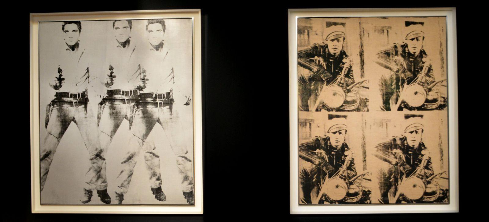 «Triple Elvis» und «Four Marlons»