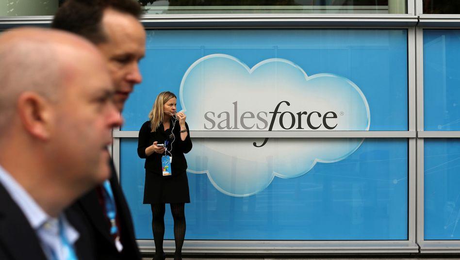 Salesforce-Veranstaltung in San Francisco: Mithilfe der Tableau -Tools sollen Salesforce-Kunden die Daten besser analysieren können