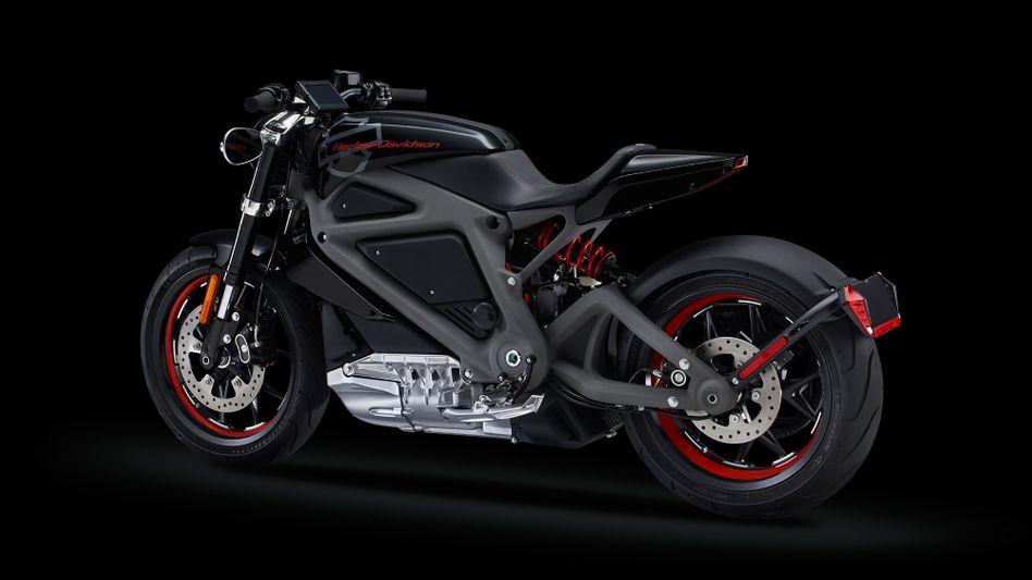 """Harley-Davidsons Elektrobike-Prototyp """"LiveWire"""" aus 2014: Das stille Bike bekommt eine zweite Chance"""