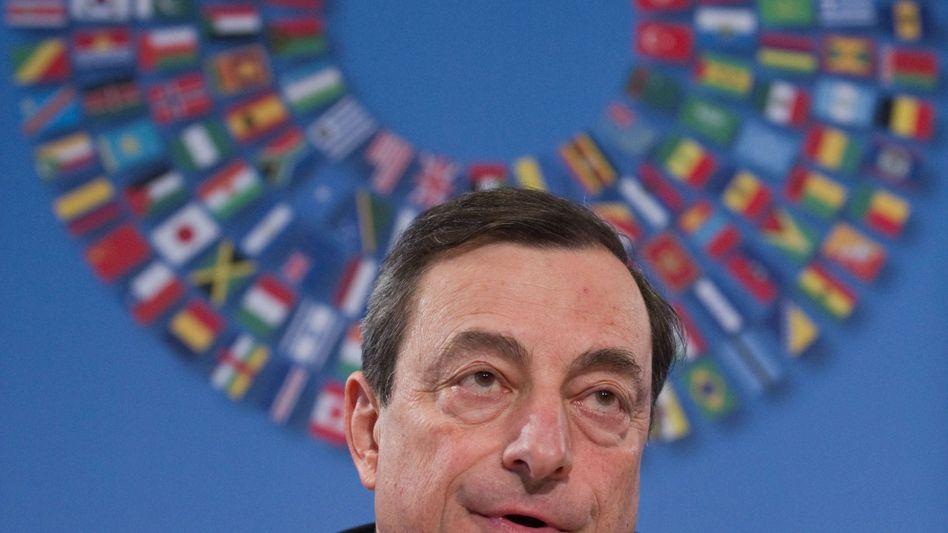 Für EZB-Spitzenjob nominiert: Italiens Banker Mario Draghi