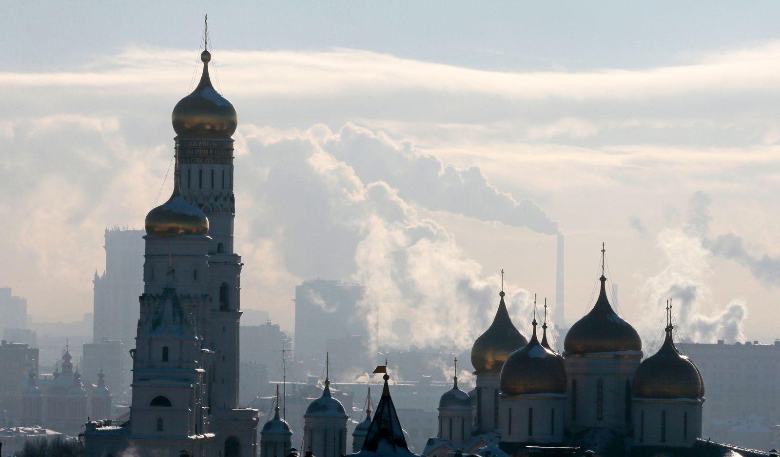 Russland / Wolken / Wirtschaft / Konjunktur / Moskau