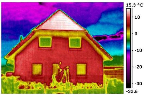 Wärmebild: Der Verbrauch des Vormieters sagt wenig über die Energiequalität eines Hauses