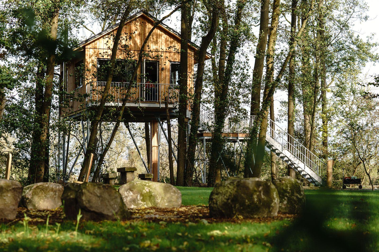 Baumhaus Rotkehlchen / mein-baumhaus.de