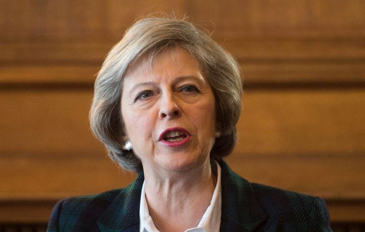 Theresa May: Die britische Innenministerin kandidiert für den Vorsitz bei den Tories und damit auch für das Amt als Premier.