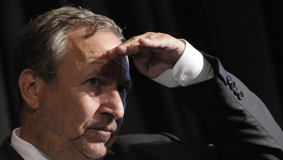 US-Ökonom Larry Summers: Prophezeiung ökonomischen Siechtums
