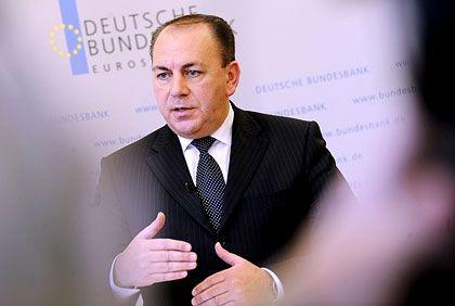 Nachlassender Abwärtsdruck: Bundesbankpraesident Weber