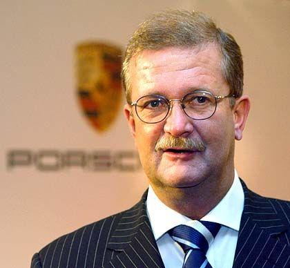 Rekordserie: Porsche-Chef Wendelin Wiedeking kann erneut hervorragende Geschäftszahlen bekannt geben