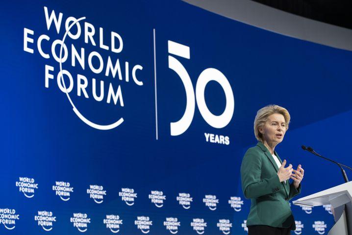 """EU-Kommissionspräsidentin Ursula von der Leyen: """"Werden europäische Unternehmen vor unfairem Wettbewerb schützen"""""""