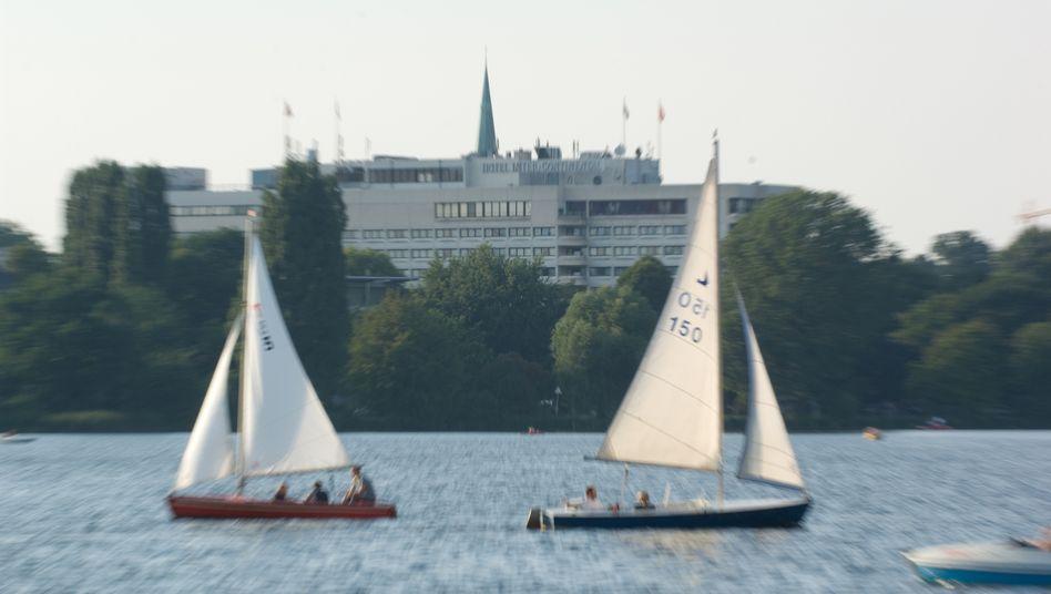 Das Hotel Intercontinental an der Hamburger Außenalster: 140 Jobs sind in Gefahr