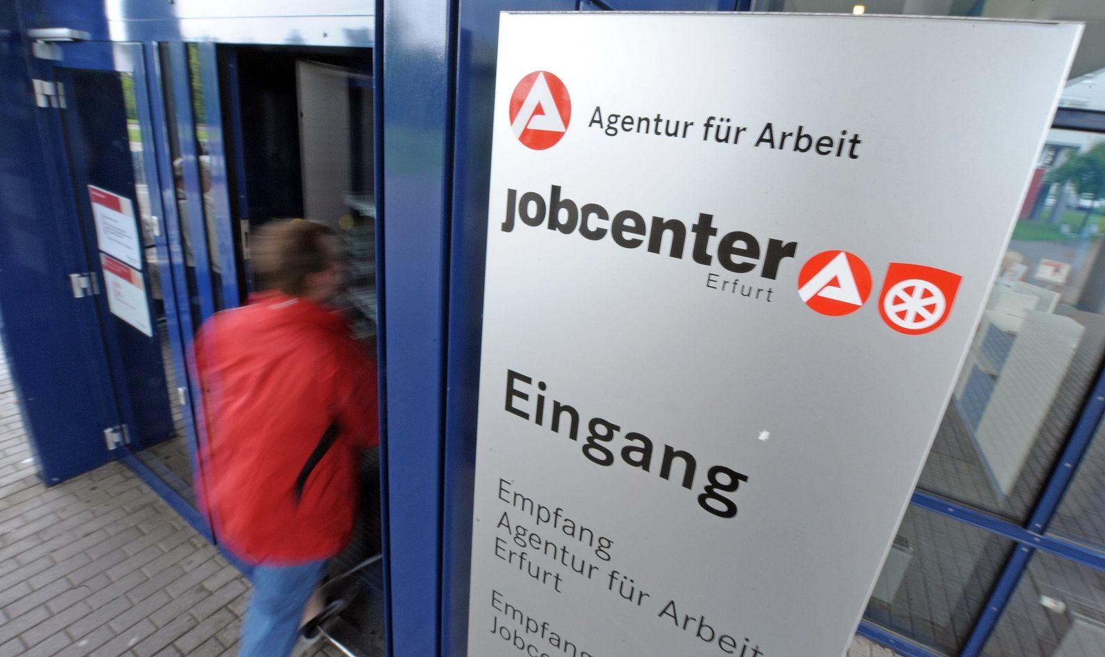 Jobcenter Erfurt / Arbeitsagentur / Arbeitsamt / Arbeitslose / Leiharbeit