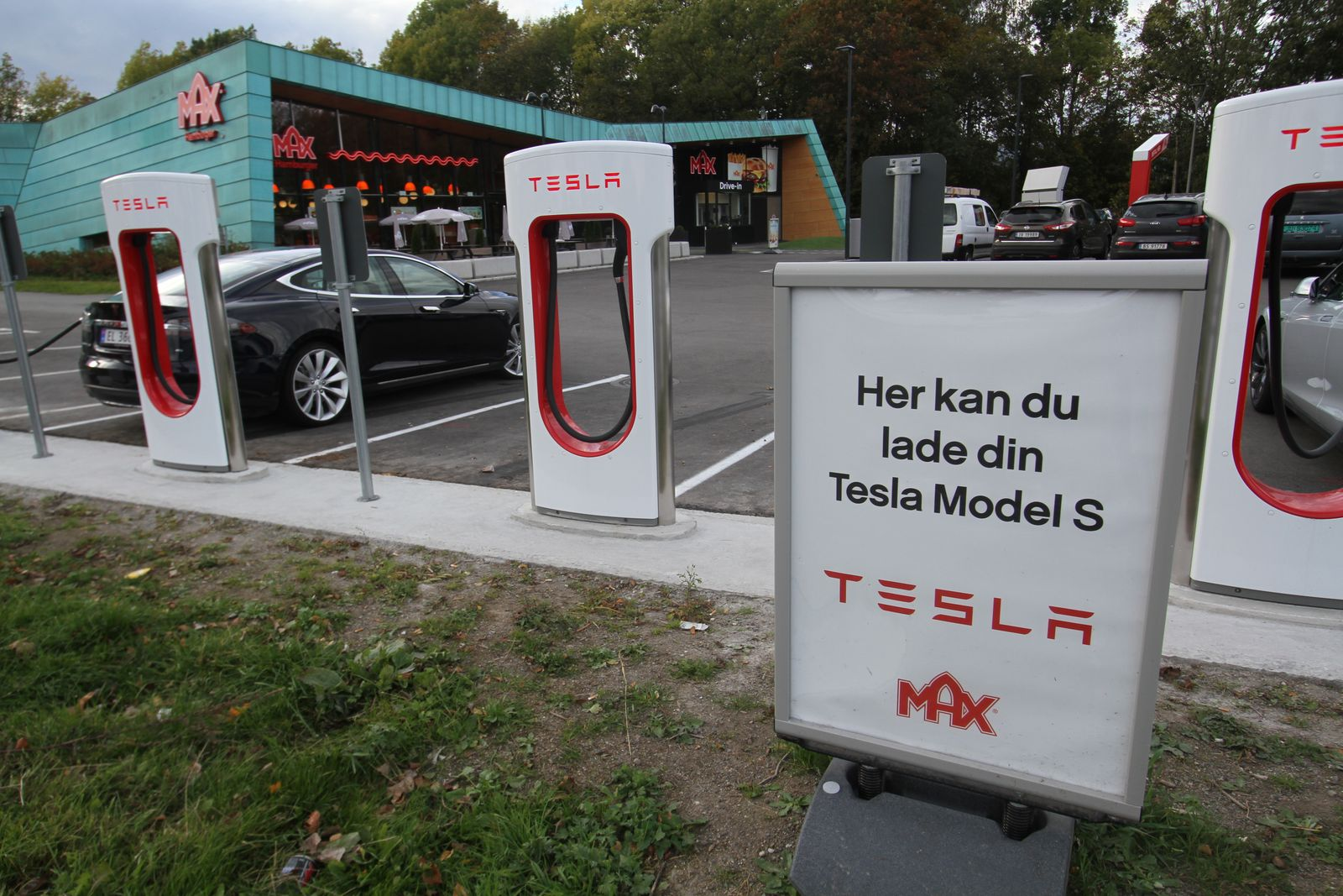 Tesla Superchargers in Norway