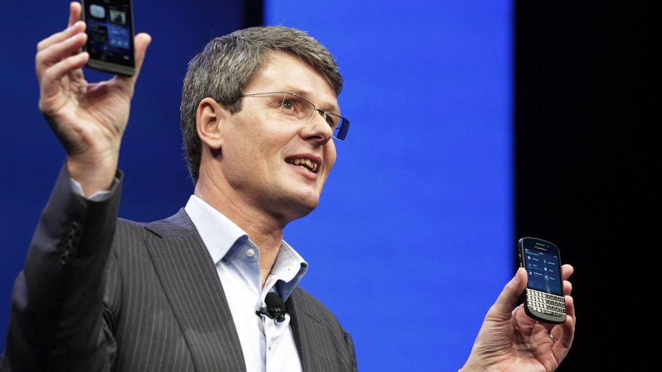 Blackberry-Chef Thorsten Heins: Liegt die Zukunft abseits der Börse?